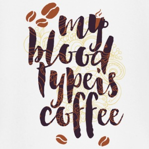 My blood Type is coffee- Blut Kaffee Blutgruppe Baby Langarmshirts - Baby Langarmshirt