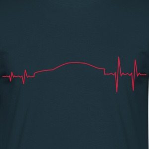 E46 Pulse Raise Sportscar T-Shirts - Men's T-Shirt