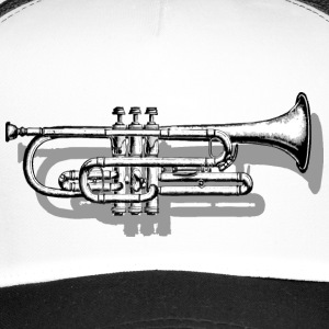 Trumpet with Shadow Caps & Hats - Trucker Cap