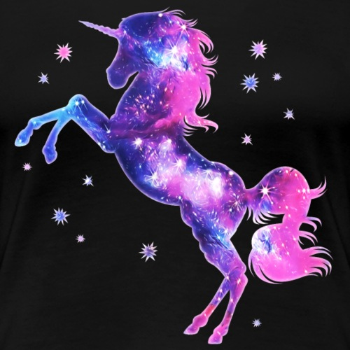 Einhorn, unicorn, space, Sterne, Fantasy, galaxy,
