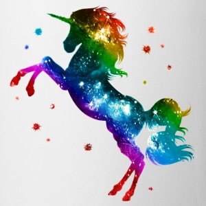 Unicorn rainbow, galaxy, space, gay, fantasy Muggar & tillbehör - Mugg