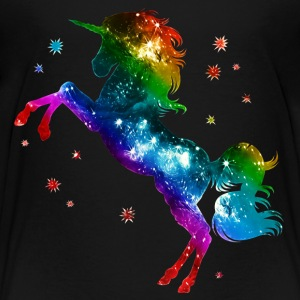 Unicorn rainbow, galaxy, space, gay, fantasy T-shirts - Premium-T-shirt barn