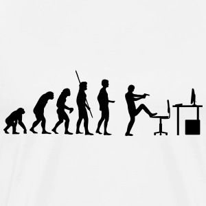 Evolution PC Shot T-Shirts - Men's Premium T-Shirt