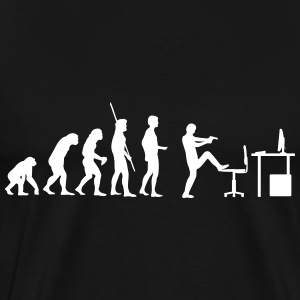 Evolution PC Shot T-shirts - Herre premium T-shirt