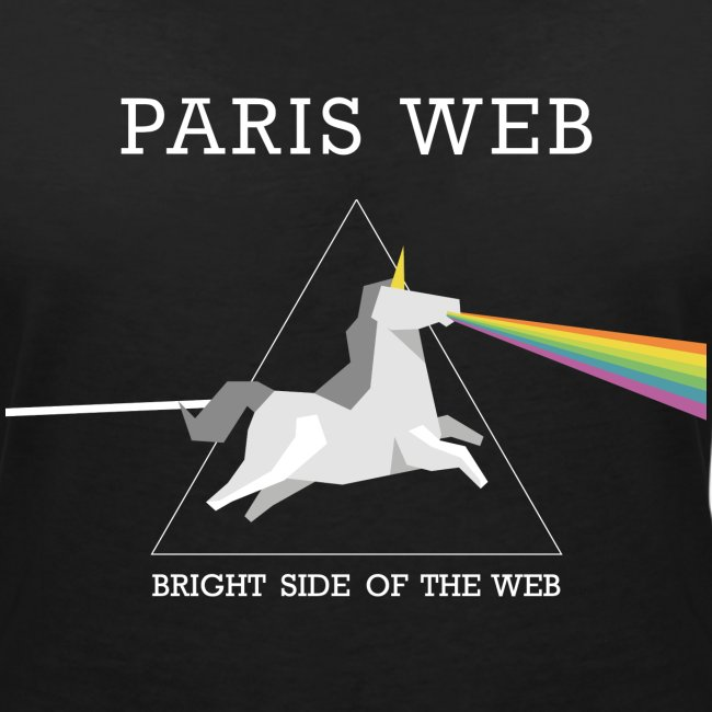 the bright side of the web - Tshirt Femme col V