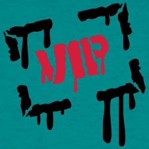 Drop imprint imprint graffiti vip very importent p T-Shirts - Men's T-Shirt