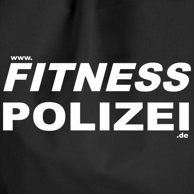 Turnbeutel Fitness Polizei