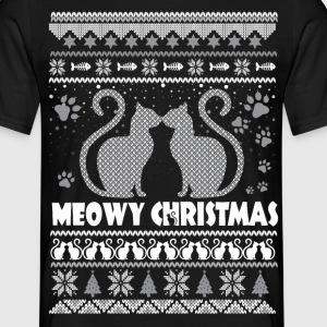 meowy christmas T-Shirts - Men's T-Shirt