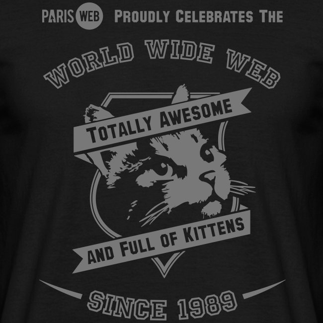 Awesome & full of kittens - Tshirt Homme