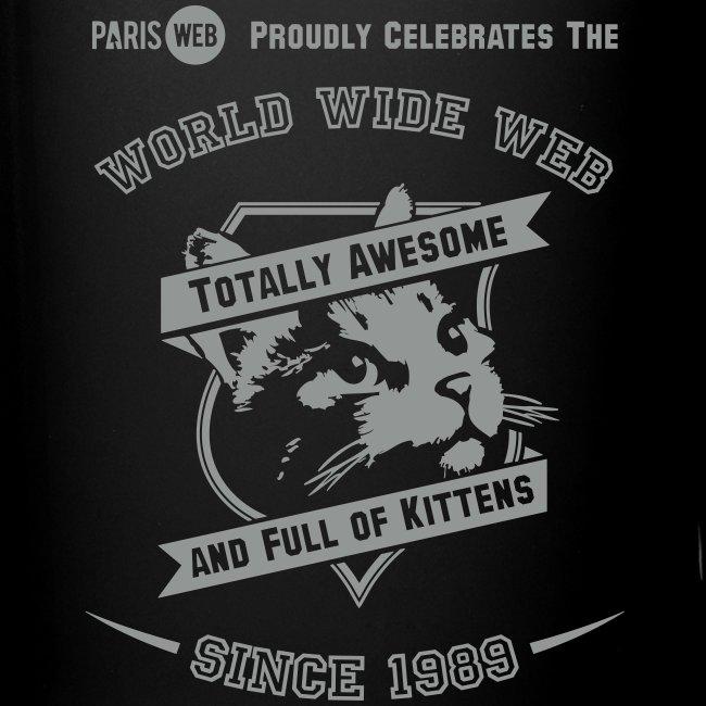 Awesome & full of kittens - Mug