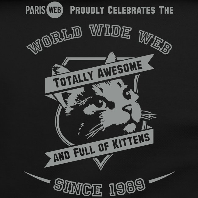 Awesome & full of kittens - Sac à bandoulière