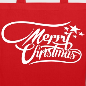 merrychristmas-ownfont Bags & Backpacks - Tote Bag