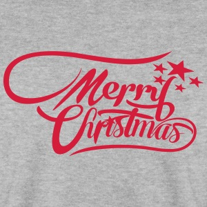 merrychristmas-ownfont Sweaters - Mannen sweater