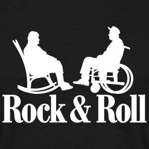 Rock n Roll 1clr New T-shirts - Mannen T-shirt