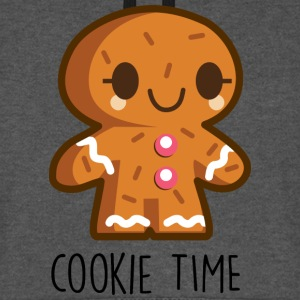 cookie time christmas Pullover & Hoodies - Unisex Baseball Hoodie
