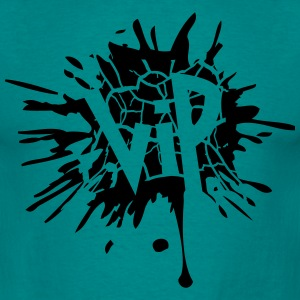 Tear ink blotter paint splatter graffiti circle sp T-Shirts - Men's T-Shirt