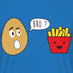 I am your brother - fries - Funny - Men's T-Shirt