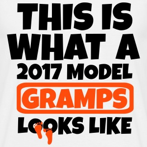 THIS IS WHAT A  2017 MODEL GRAMPS LOOKS LIKE T-Shirts - Men's T-Shirt