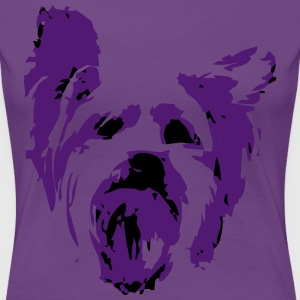 Yorkshire Terrier - Frauen Premium T-Shirt