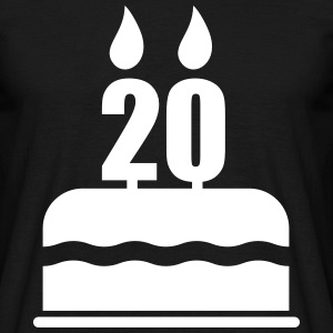 20th Birthday - Men's T-Shirt