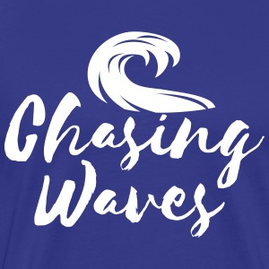 Chasing Waves T-Shirts - Men's Premium T-Shirt