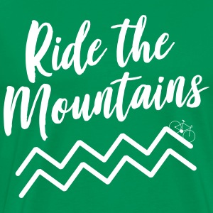 Ride the Mountains T-Shirts - Men's Premium T-Shirt