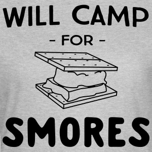Will camp for smores T-Shirts - Women's T-Shirt