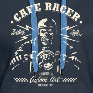 CafeRacer - Loud and Fast Pullover & Hoodies - Frauen Premium Hoodie