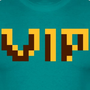 pixel 8 bits gamer design cool look rétro personne Tee shirts - T-shirt Homme
