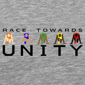Race Towards Unity by JuiceMan Benji - Men's Premium T-Shirt