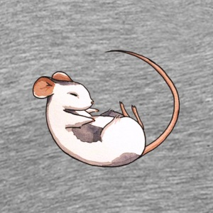Sleeping mouse - Men's Premium T-Shirt