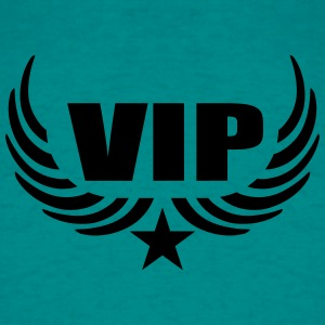 Logo member stamp vip person important particular  T-Shirts - Men's T-Shirt