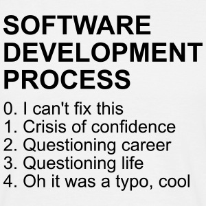 Software Development Process - Männer T-Shirt