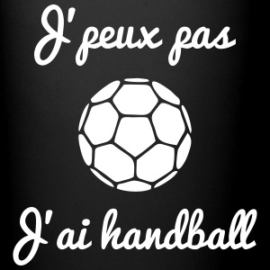 Je peux pas j'ai handball - citations handball  - Tasse en couleur
