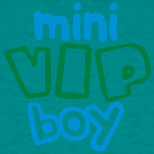 Young man boy male baby child pregnant family sibl T-Shirts - Men's T-Shirt
