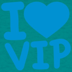 I love log heart love vip text shirt cool design l T-Shirts - Men's T-Shirt