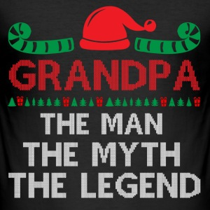 Grandpa - The Man The Myth The Legend T-Shirts - Men's Slim Fit T-Shirt