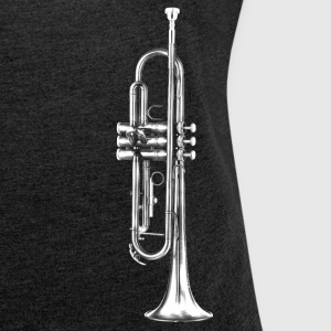 Trumpet T-Shirts - Women's T-shirt with rolled up sleeves