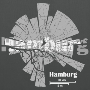 Hamburg Map Bags & Backpacks - Tote Bag