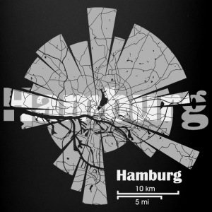 Hamburg Map Mugs & Drinkware - Full Colour Mug