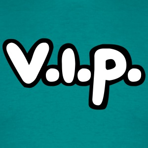 Cartoon comic friends team logo member stamp vip p T-Shirts - Men's T-Shirt