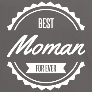 best moman maman mother Tee shirts - T-shirt contraste Femme