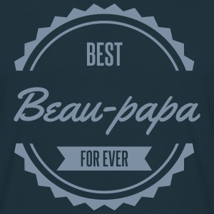 best beau papa famille Tee shirts - T-shirt Homme