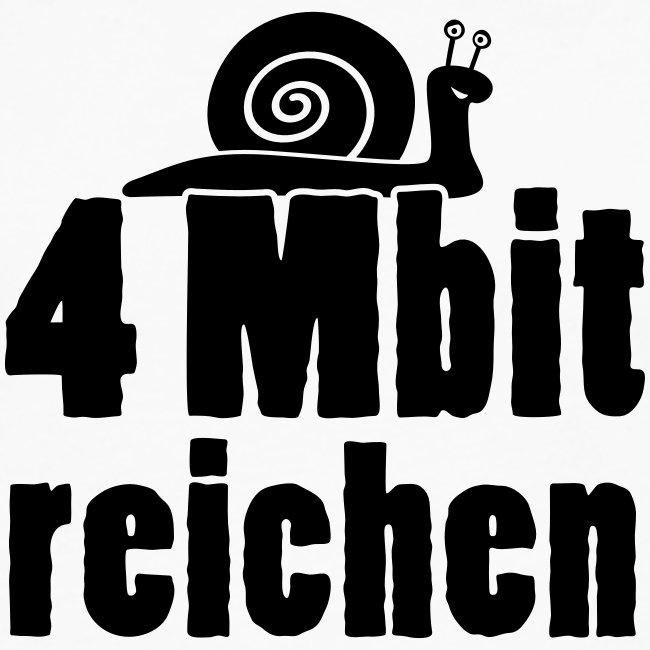 4-Mbit reichen - Langshirt