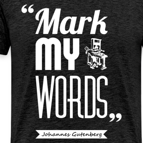 Gutenberg's words