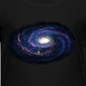 Galaxie - violett - Teenager Premium T-Shirt