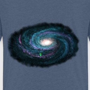 Galaxie - blau - Kinder Premium T-Shirt