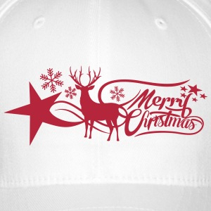 merry-christmas Caps & Hats - Flexfit Baseball Cap