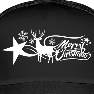 merry-christmas Caps & Hats - Trucker Cap