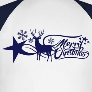 merry-christmas Long sleeve shirts - Men's Long Sleeve Baseball T-Shirt